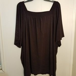 Maggie Barns brown tunic with embellishments
